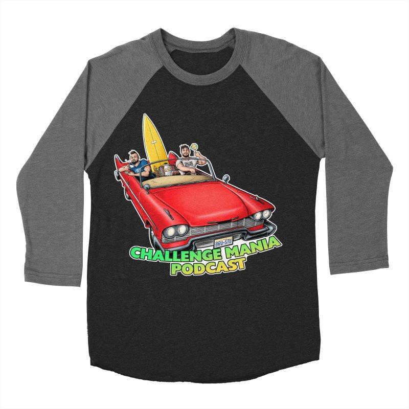 West Coast Mania Men's Baseball Triblend Longsleeve T-Shirt by Challenge Mania Shop