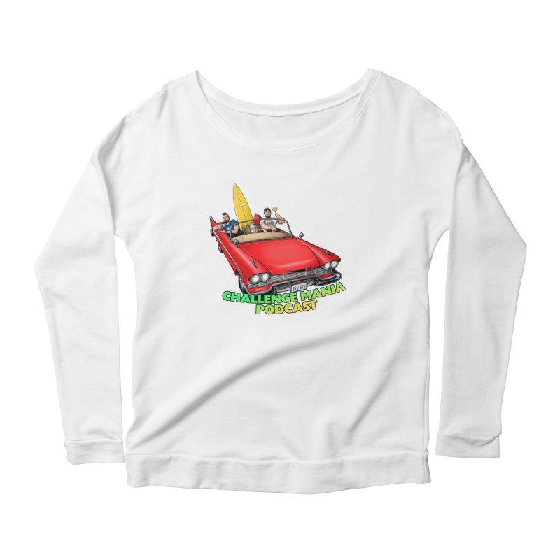 West Coast Mania Women's Scoop Neck Longsleeve T-Shirt by Challenge Mania Shop