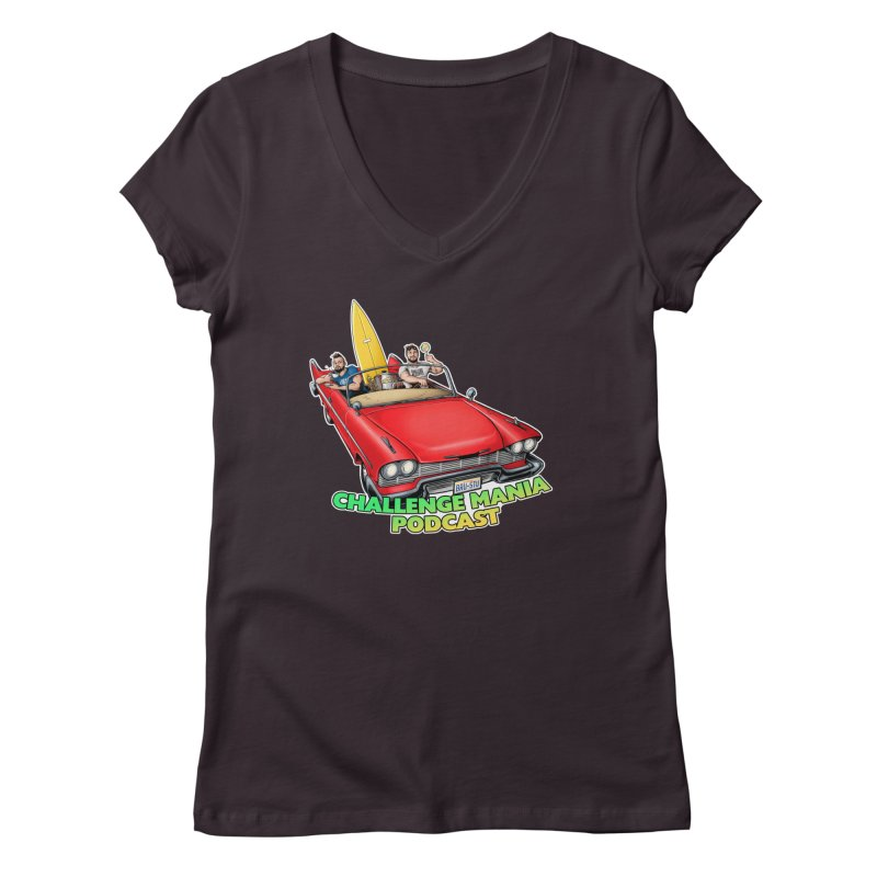 West Coast Mania Women's V-Neck by Challenge Mania Shop