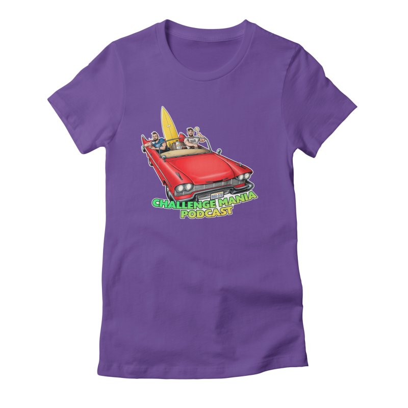 West Coast Mania Women's Fitted T-Shirt by Challenge Mania Shop