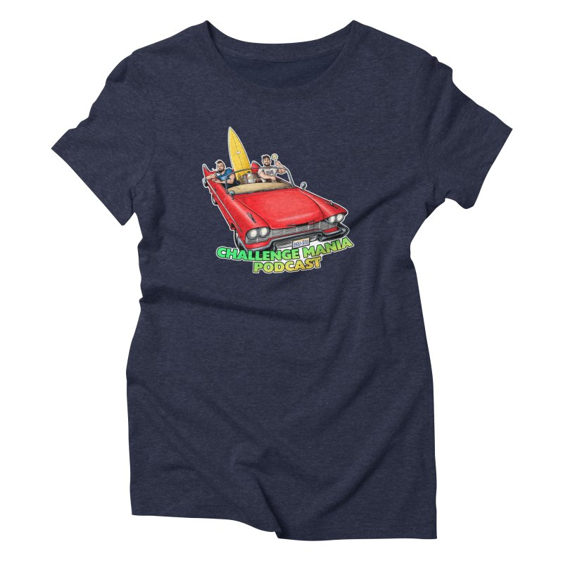 West Coast Mania Women's Triblend T-Shirt by Challenge Mania Shop