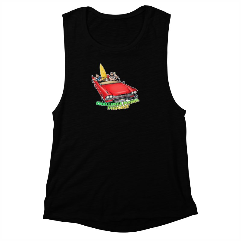West Coast Mania Women's Muscle Tank by Challenge Mania Shop