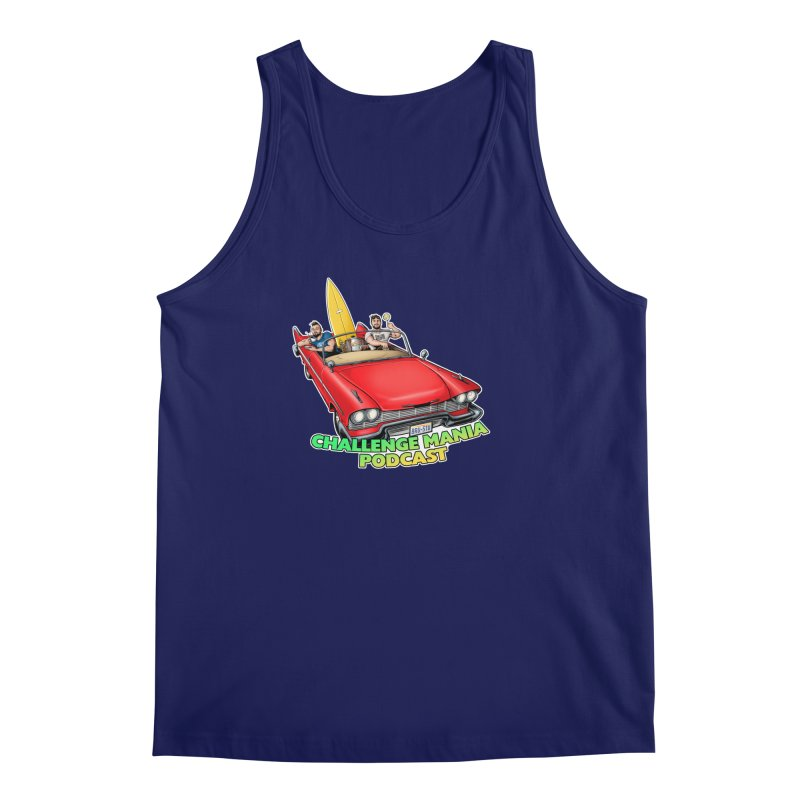 West Coast Mania Men's Regular Tank by Challenge Mania Shop