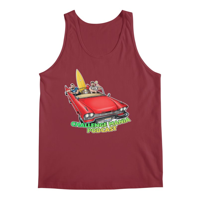 West Coast Mania Men's Tank by Challenge Mania Shop