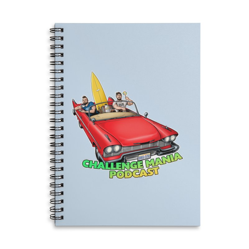 West Coast Mania Accessories Lined Spiral Notebook by Challenge Mania Shop