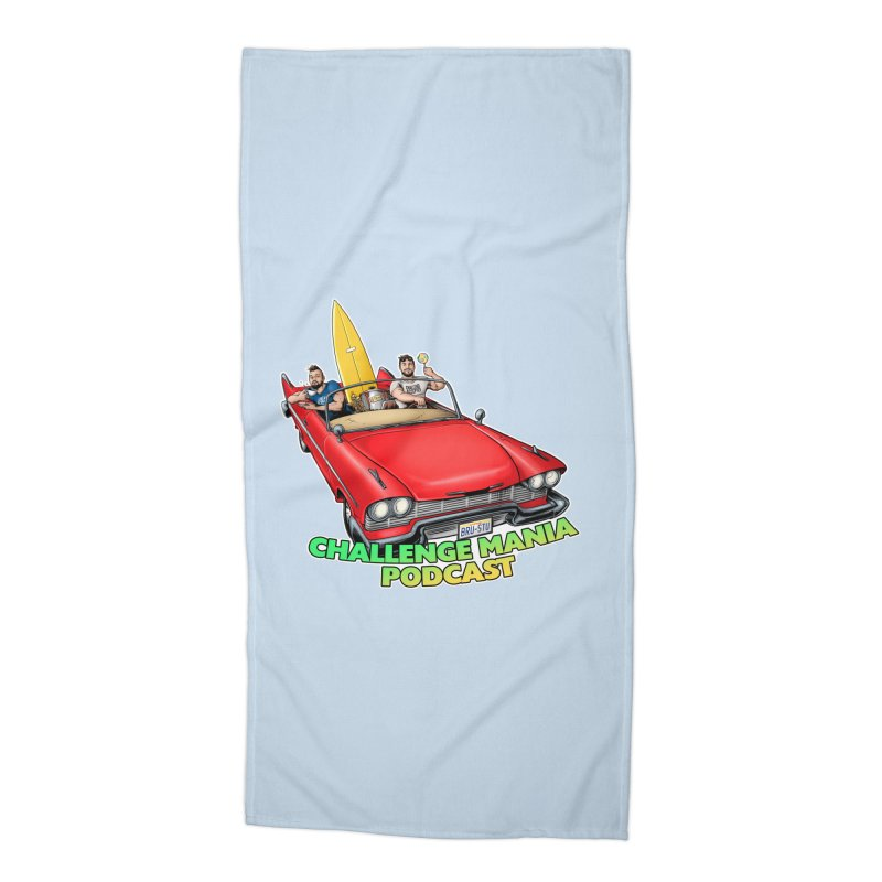 West Coast Mania Accessories Beach Towel by Challenge Mania Shop