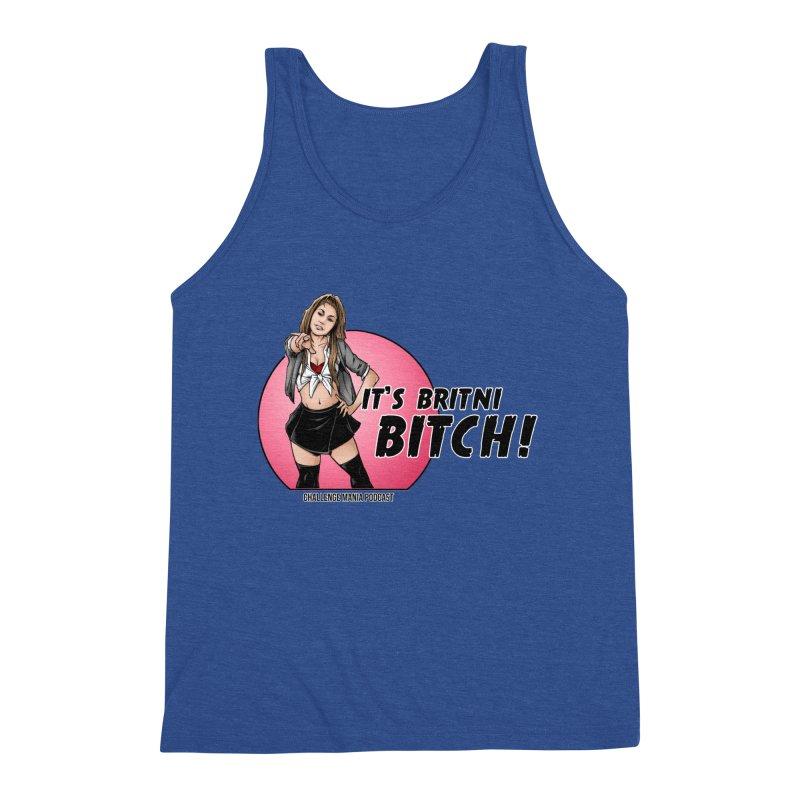 It's Britni B*tch Men's Tank by Challenge Mania Shop