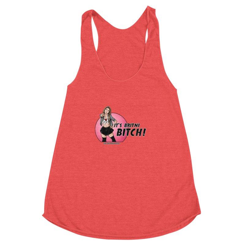It's Britni B*tch Women's Racerback Triblend Tank by Challenge Mania Shop