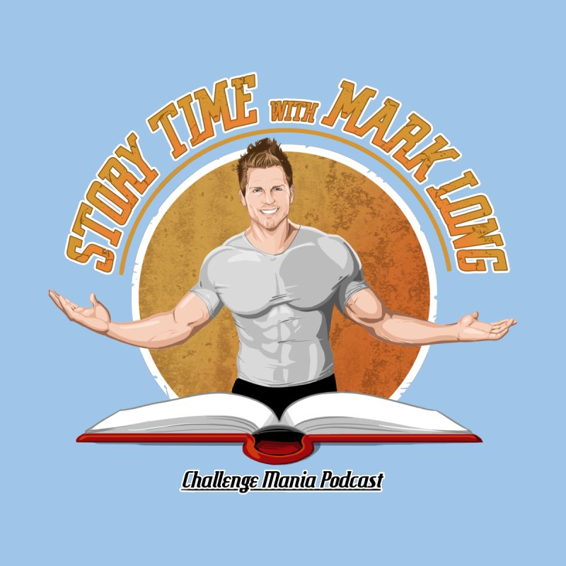 Story Time with Mark Long Kids T-Shirt by Challenge Mania Shop