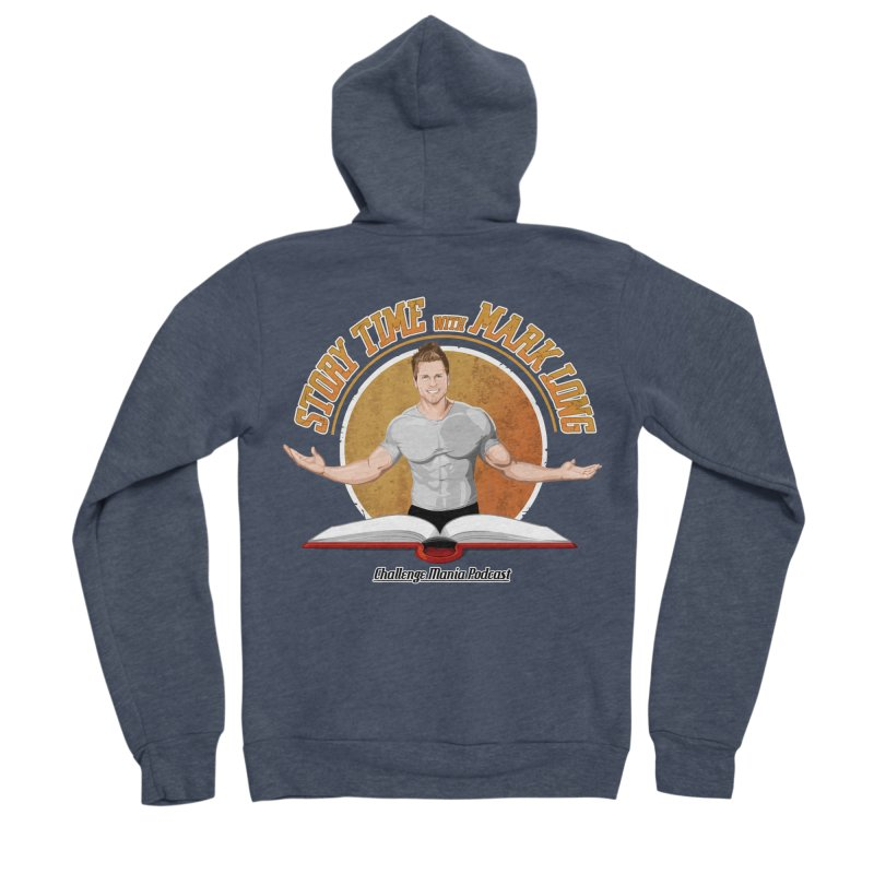 Story Time with Mark Long Men's Zip-Up Hoody by Challenge Mania Shop