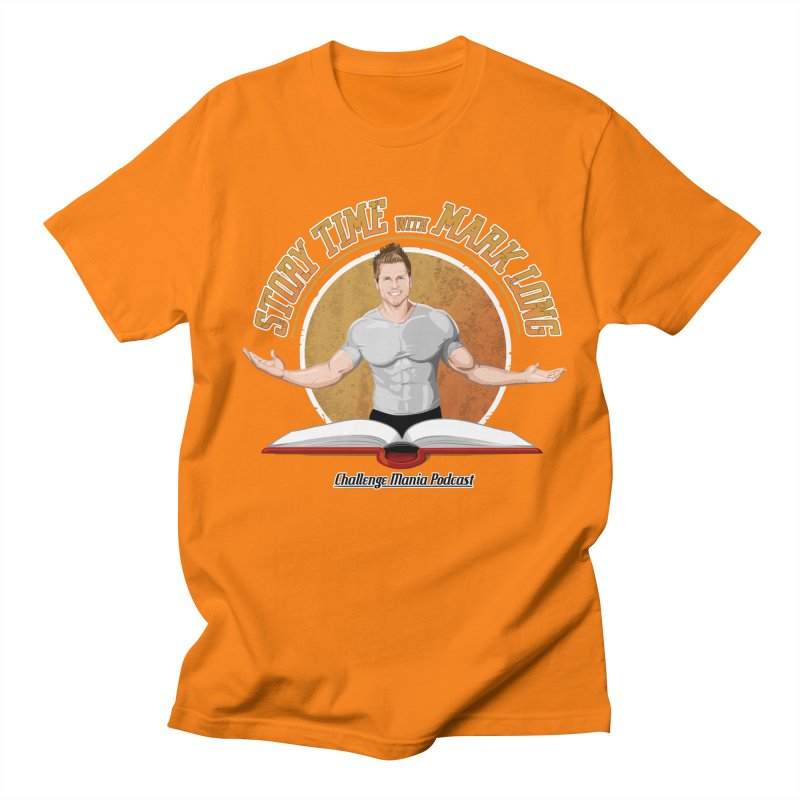 Story Time with Mark Long Men's T-Shirt by Challenge Mania Shop