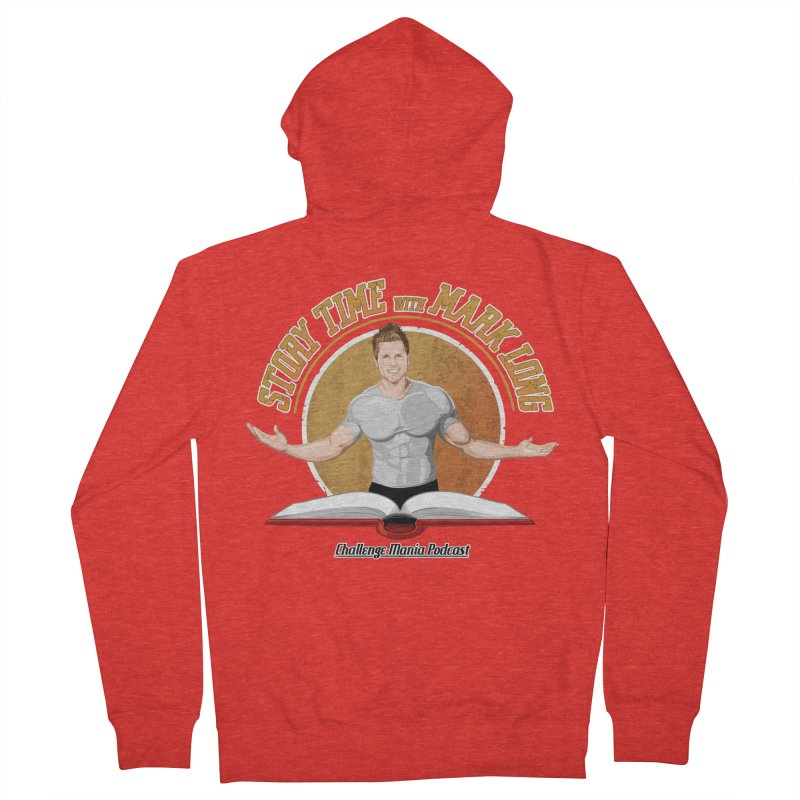 Story Time with Mark Long Women's Zip-Up Hoody by Challenge Mania Shop