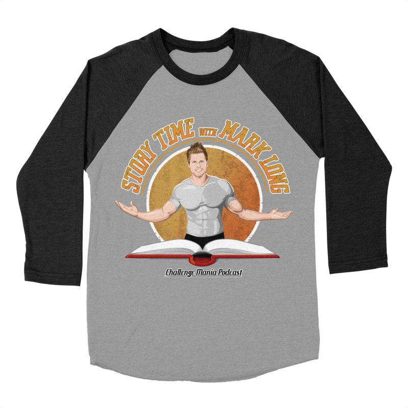 Story Time with Mark Long Women's Baseball Triblend Longsleeve T-Shirt by Challenge Mania Shop
