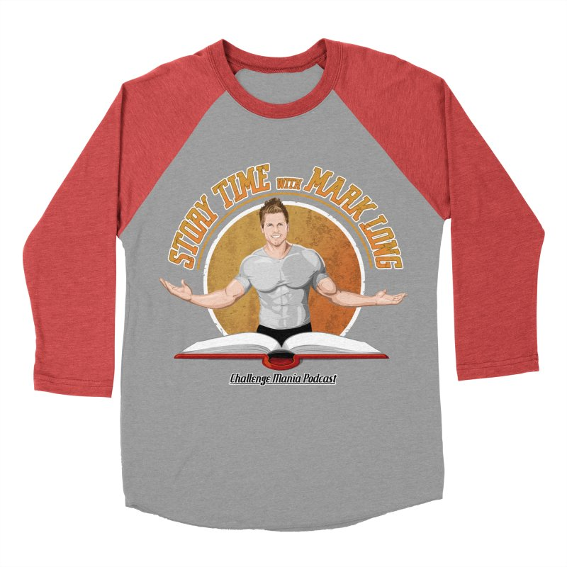 Story Time with Mark Long Men's Longsleeve T-Shirt by Challenge Mania Shop