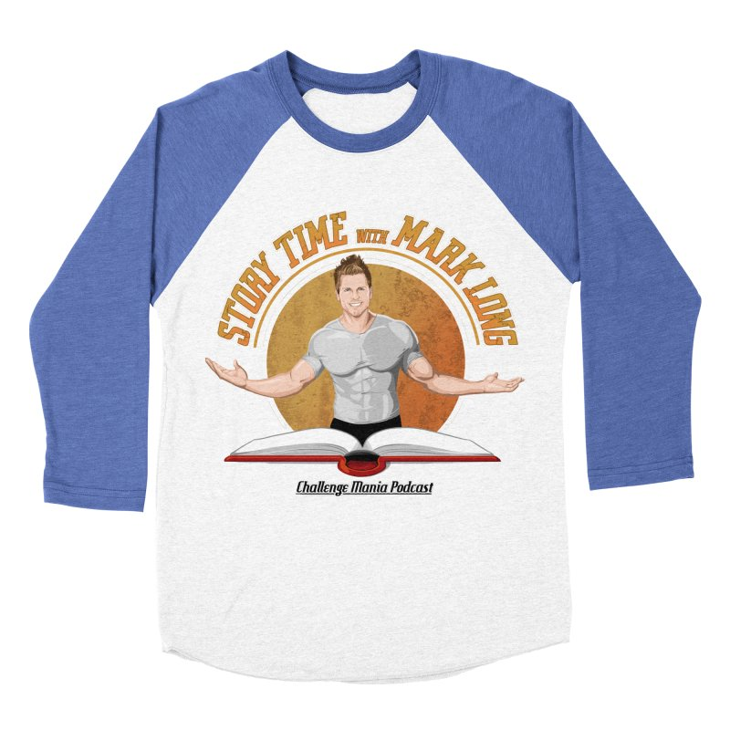 Story Time with Mark Long Men's Baseball Triblend Longsleeve T-Shirt by Challenge Mania Shop