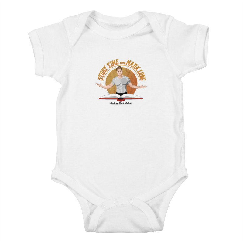 Story Time with Mark Long Kids Baby Bodysuit by Challenge Mania Shop
