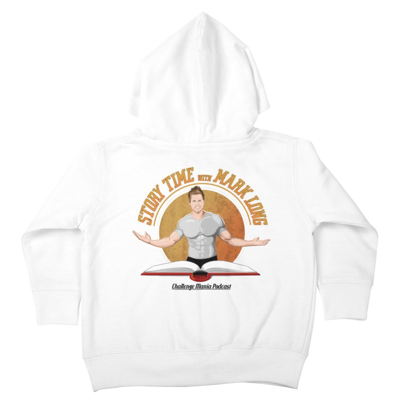 Story Time with Mark Long Kids Toddler Zip-Up Hoody by Challenge Mania Shop