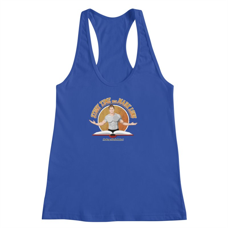 Story Time with Mark Long Women's Racerback Tank by Challenge Mania Shop