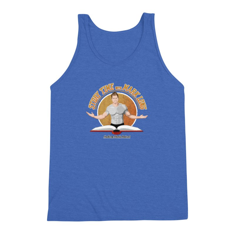 Story Time with Mark Long Men's Triblend Tank by Challenge Mania Shop