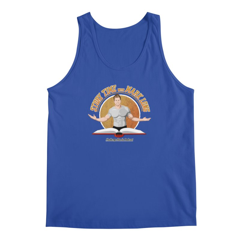 Story Time with Mark Long Men's Regular Tank by Challenge Mania Shop