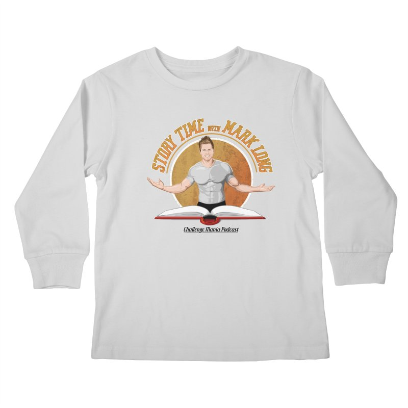 Story Time with Mark Long Kids Longsleeve T-Shirt by Challenge Mania Shop