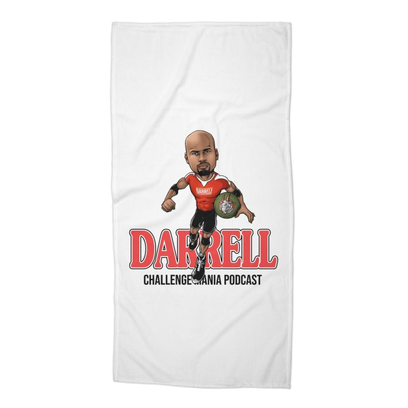 Darrell The Goat Accessories Beach Towel by Challenge Mania Shop