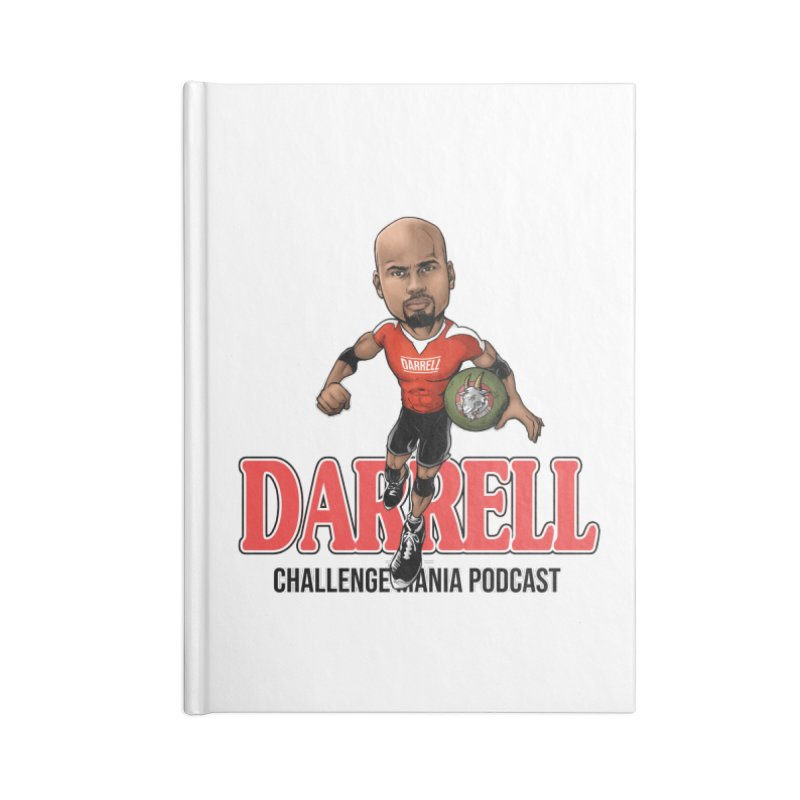 Darrell The Goat Accessories Lined Journal Notebook by Challenge Mania Shop
