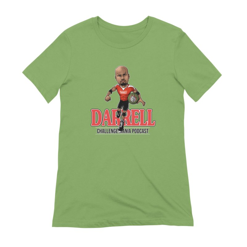 Darrell The Goat Women's T-Shirt by Challenge Mania Shop