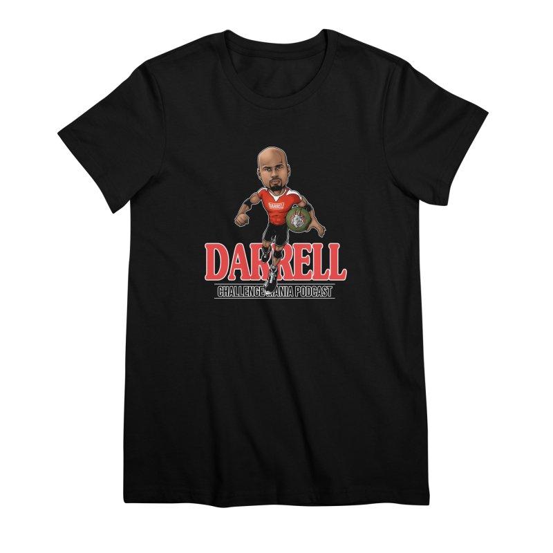 Darrell The Goat Women's Premium T-Shirt by Challenge Mania Shop