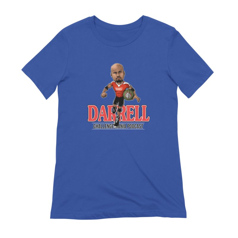 Darrell The Goat Women's Extra Soft T-Shirt by Challenge Mania Shop
