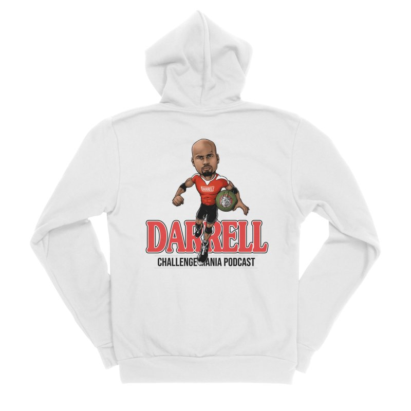 Darrell The Goat Men's Sponge Fleece Zip-Up Hoody by Challenge Mania Shop