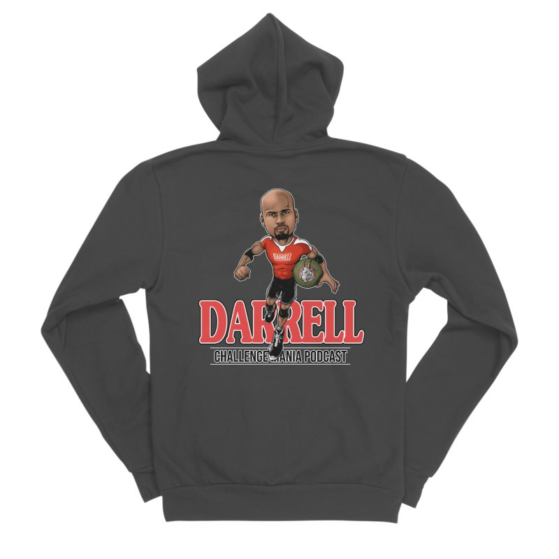 Darrell The Goat Women's Zip-Up Hoody by Challenge Mania Shop