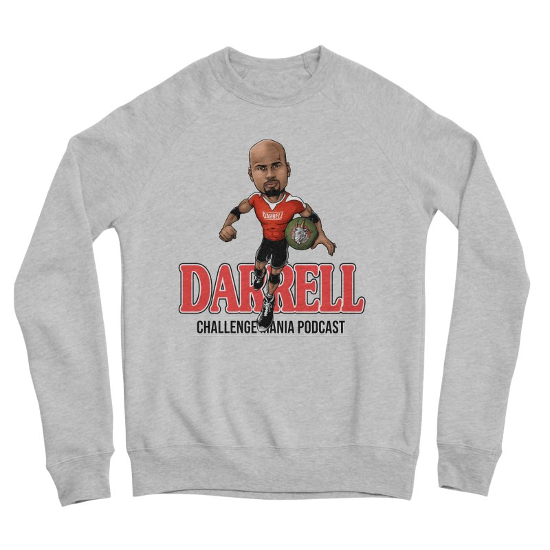 Darrell The Goat Women's Sponge Fleece Sweatshirt by Challenge Mania Shop
