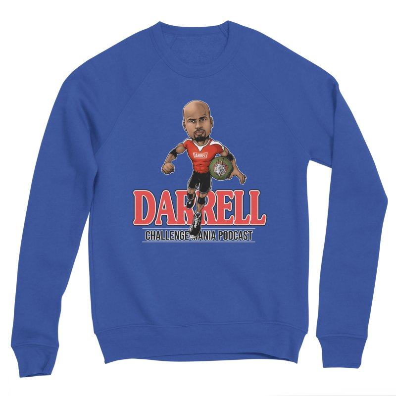 Darrell The Goat Men's Sponge Fleece Sweatshirt by Challenge Mania Shop