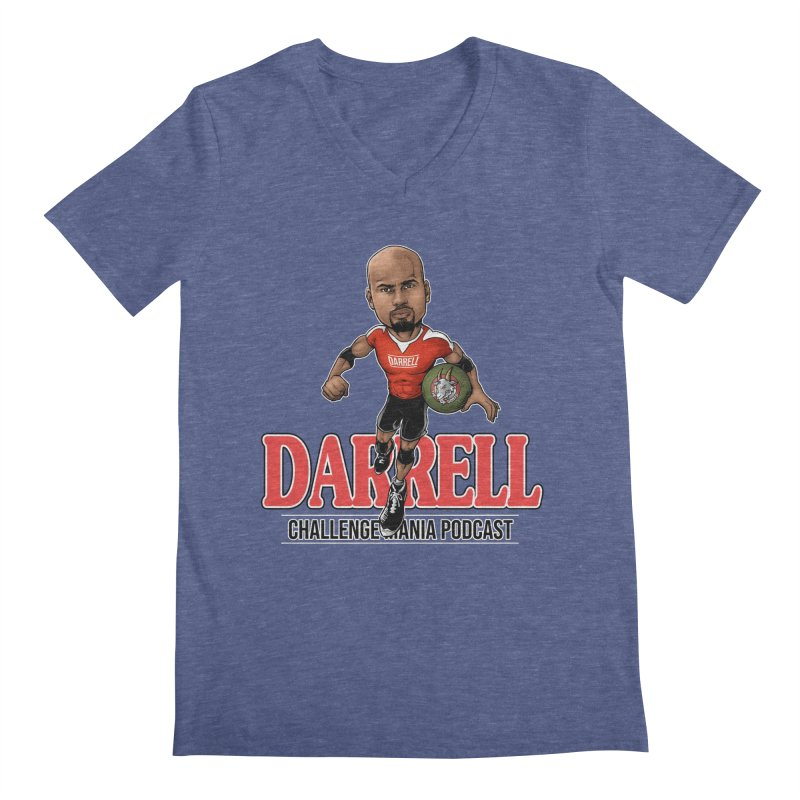 Darrell The Goat Men's V-Neck by Challenge Mania Shop