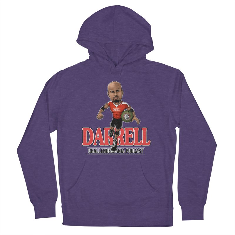 Darrell The Goat Men's French Terry Pullover Hoody by Challenge Mania Shop