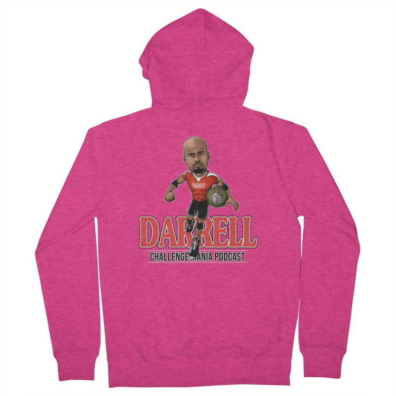 Darrell The Goat Women's French Terry Zip-Up Hoody by Challenge Mania Shop