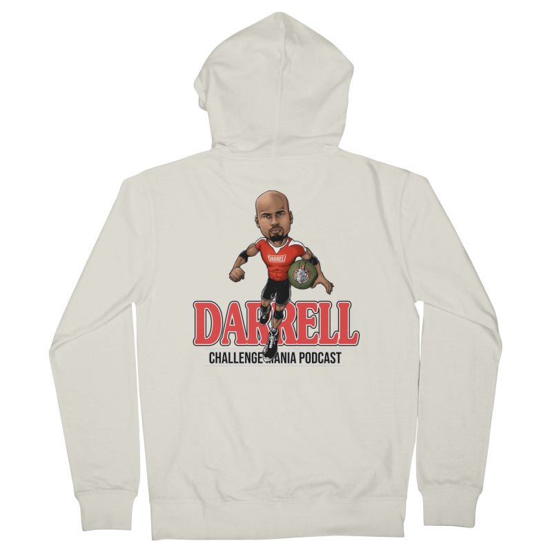 Darrell The Goat Men's French Terry Zip-Up Hoody by Challenge Mania Shop