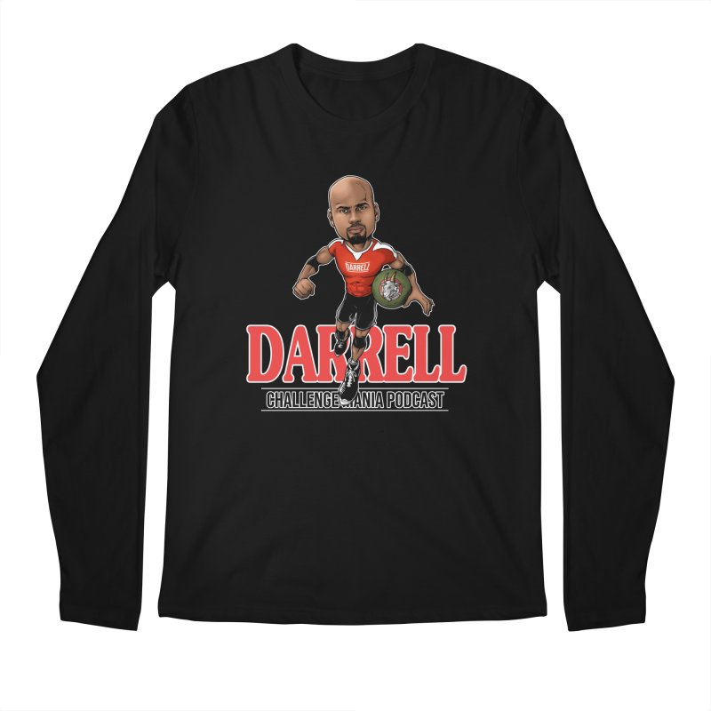 Darrell The Goat Men's Regular Longsleeve T-Shirt by Challenge Mania Shop