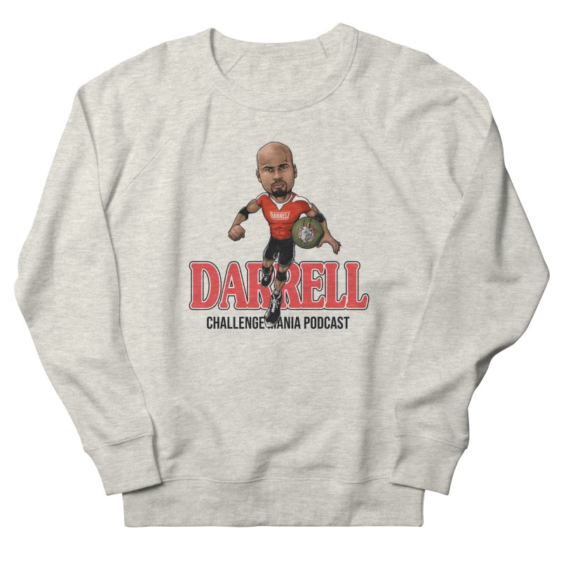 Darrell The Goat Women's French Terry Sweatshirt by Challenge Mania Shop