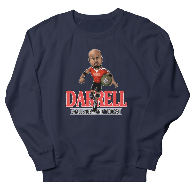Darrell The Goat Men's French Terry Sweatshirt by Challenge Mania Shop