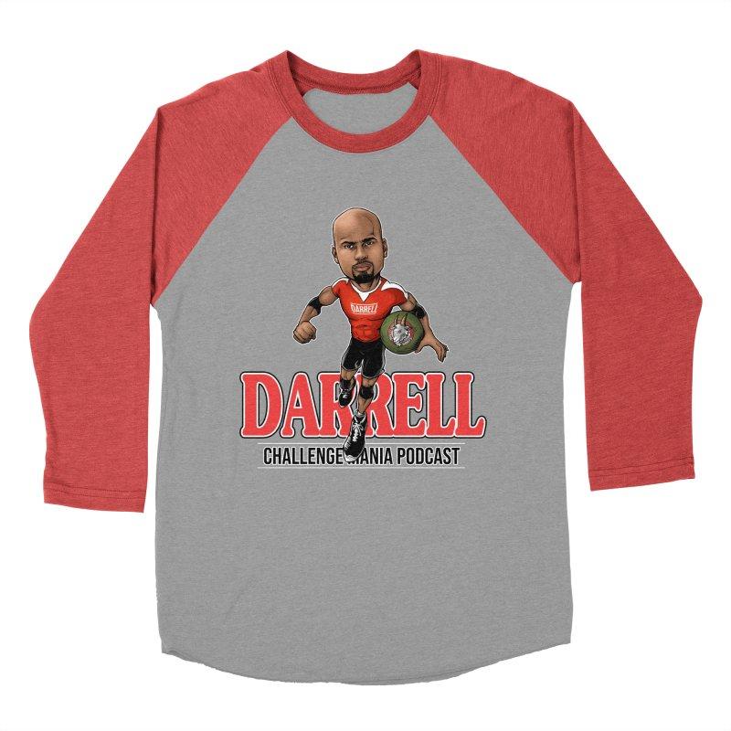 Darrell The Goat Women's Baseball Triblend Longsleeve T-Shirt by Challenge Mania Shop