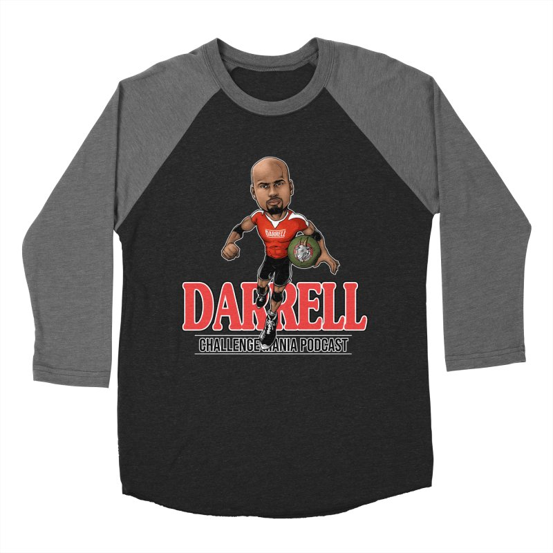Darrell The Goat Women's Baseball Triblend Longsleeve T-Shirt by Challenge Mania Shop