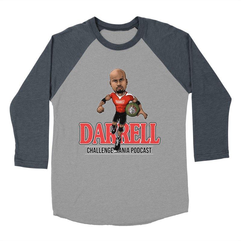 Darrell The Goat Men's Baseball Triblend Longsleeve T-Shirt by Challenge Mania Shop