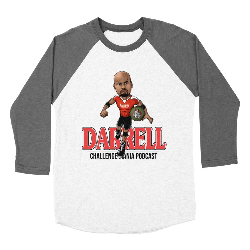 Darrell The Goat Men's Baseball Triblend Longsleeve T-Shirt by Challenge Mania Shop