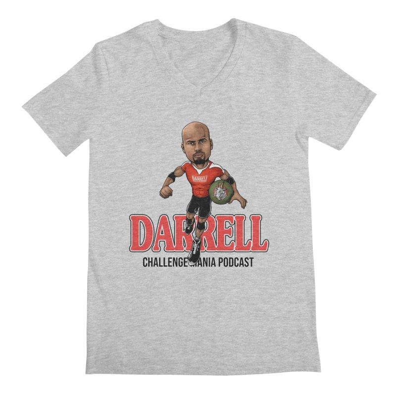 Darrell The Goat Men's Regular V-Neck by Challenge Mania Shop