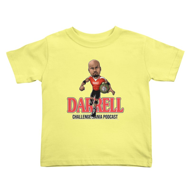 Darrell The Goat Kids Toddler T-Shirt by Challenge Mania Shop
