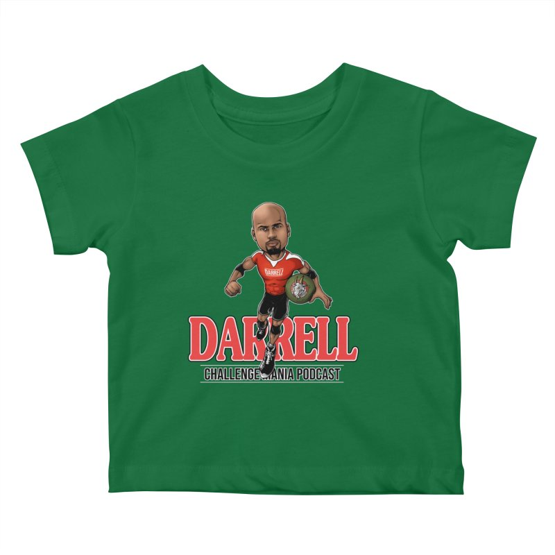 Darrell The Goat Kids Baby T-Shirt by Challenge Mania Shop
