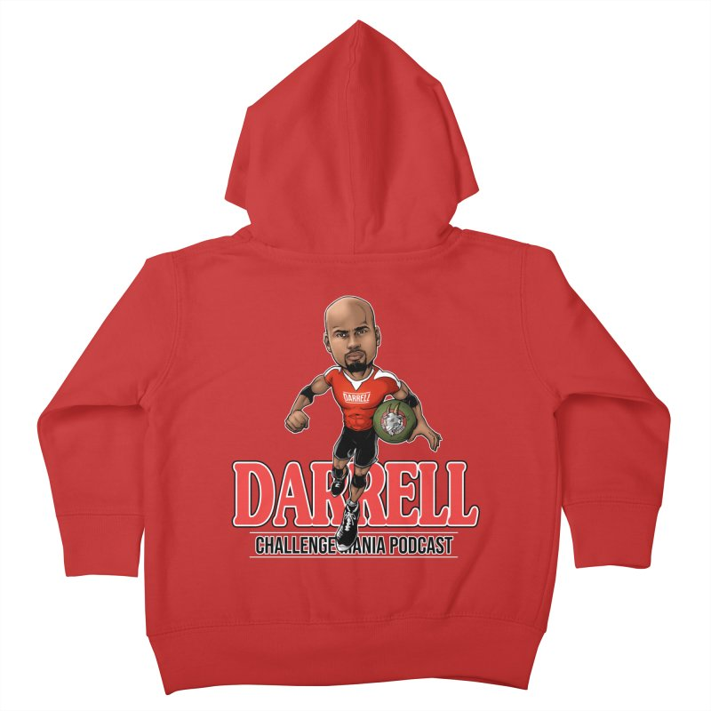 Darrell The Goat Kids Toddler Zip-Up Hoody by Challenge Mania Shop