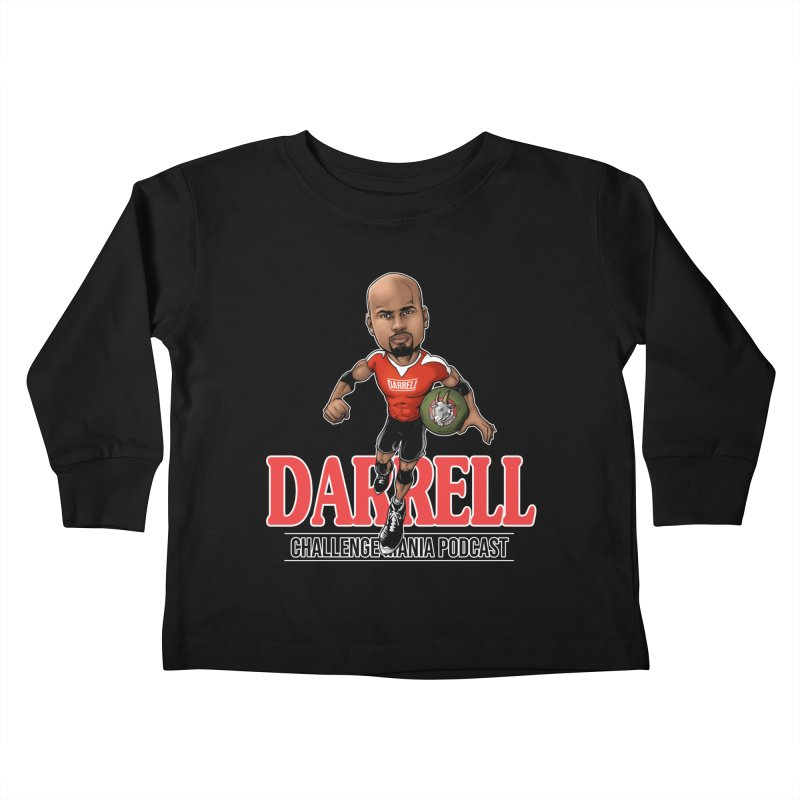 Darrell The Goat Kids Toddler Longsleeve T-Shirt by Challenge Mania Shop